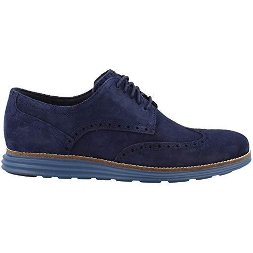Cole Haan Men's M-Width Sneaker, Marine BL SDE/STLR, 12