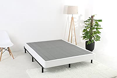 6 Inch Low Profile Mattress Foundation/Folding Box Spring/Sturdy Steel Structure/Noise-Free/Easy Assembly Required