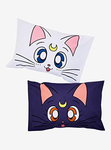 (Sailor Moon Luna & Artemis Pillowcase Set)