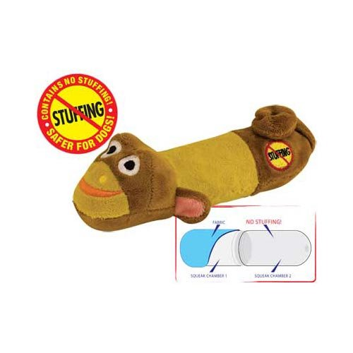 Dog Toy Lil Squeak Monkey No Stuffing