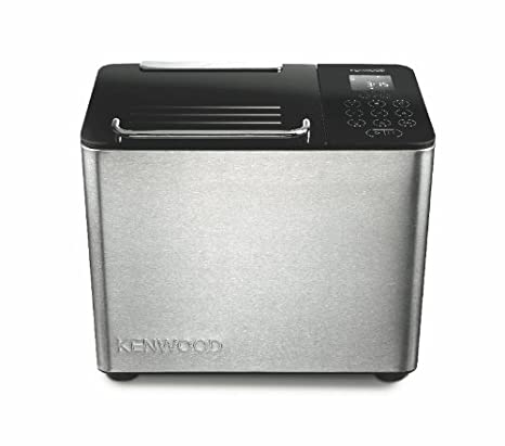 Kenwood BM450 Panificadora, 780 W, Acero Inoxidable, Plateado