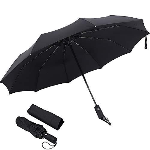 YUI Galleria Travel Umbrella Windproof Sun&Rain and Auto Open/Close Button ()