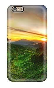 Defender Case For Iphone 6, Green Hills Pattern