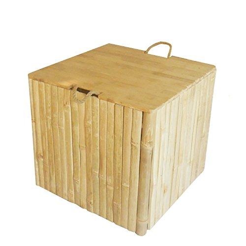 ZEW AC-148 Square Box Ottoman/Trunk