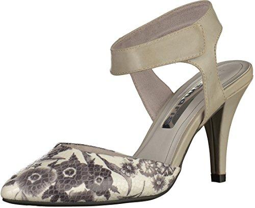 Tamaris Femmes Escarpîns gris, (GREY FLOW.COMB) 1-1-29605-26-292
