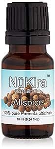 NuKira Allspice Pure Essential Oil, 0.34 Ounce