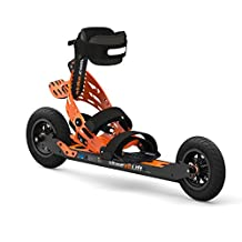 skike v8 LIFT Cross 2R - Longer wheelbase and permanent heel lift function - The Only Off-Road, with LIFT experience and Reverse Locks - Nordic Skates - The unique German-invented Nordic Skater, Roller Blade, Skiing Outdoor Experience