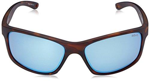 f94212eae2 Revo Harness RE 4071 02 BL Polarized Rectangular Sunglasses ...