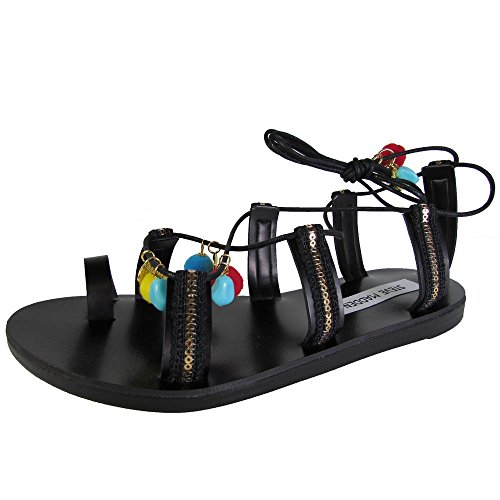 Madden Shoes Steve Cailin Sandal Up Lace 5 Multi Womens Us Ghillie Black d0wWq1S0