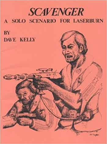 Book Scavenger: A Solo Scenario for Laserburn