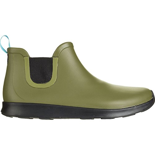 Apollo Men's Green Rookie Native Black Rain Rubber Jiffy Shoe Jiffy 5gXwCqx