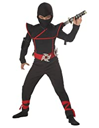 Stealth Ninja Child Costume, Size Large