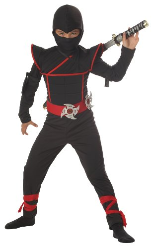 California Costumes Toys Stealth Ninja, (Ninja Halloween Costumes Child)