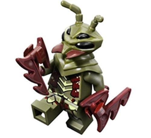 LEGO Minifigure - Mantizoid from Galaxy Squad