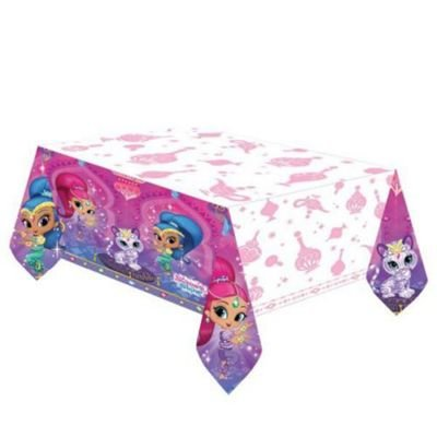 Shimmer and Shine Genies Princess Girls Party Tablecover Tablecloth Birthday Party Supplies (2-Pack) by HALL