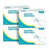 Winner Alcohol Prep Pads, Large Size, 4-Ply Square