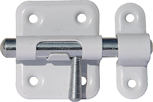 ABUS SRR40W 59673 Targette 40 mm Blanc