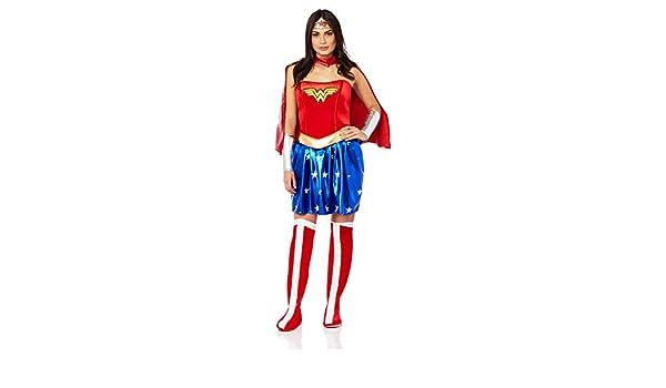 Disfraz de Wonder Woman para Mujer: Amazon.es: Juguetes y juegos
