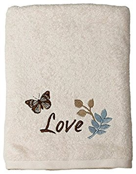 Faith Bath Collection - Bath Ensemble - Towel Set - Bath, Hand, Fingertip Towels by Saturday Knight