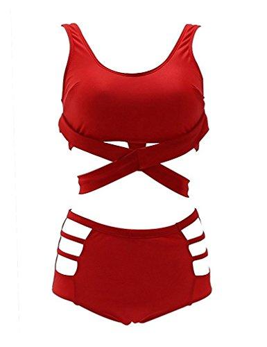 ann-byrd-sexy-womens-2pcs-plus-size-high-waist-strappy-bikini-set-swimsuits-swimwear-4xl-red