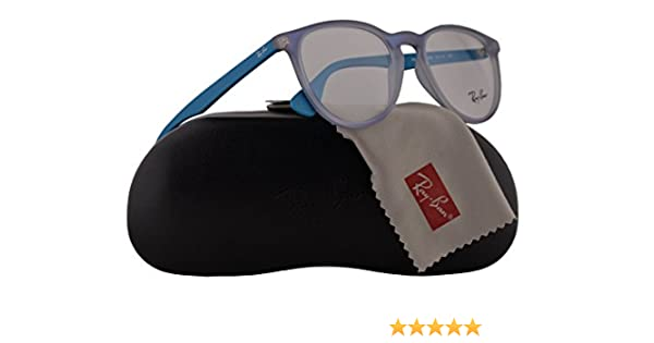 08df2851af9d ... uk amazon ray ban rx7046 eyeglasses 51 18 140 azure iridescent 5484  rb7046 clothing 74ea7 c1109