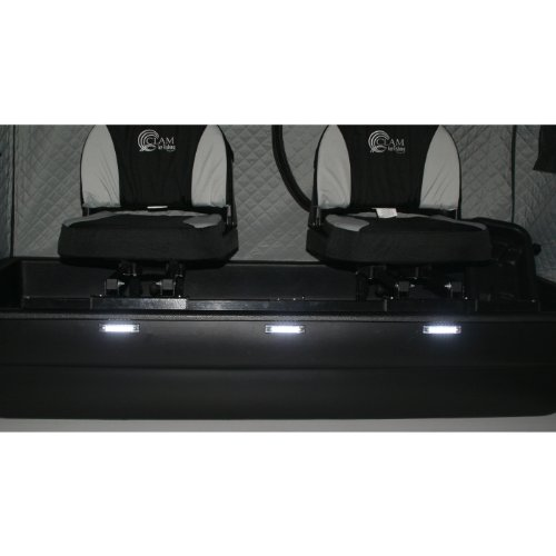Clam 9034 Bu-Pound Waterproof LED Sled Lights