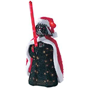Kurt Adler Darth Vader 3D Tinsel Lawn Seasonal Décor, 28-Inch