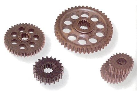 Team Industries Hyvo Top Gear - 17t Sprocket - 16t Internal 351361-002 (Team Sprocket Hyvo)