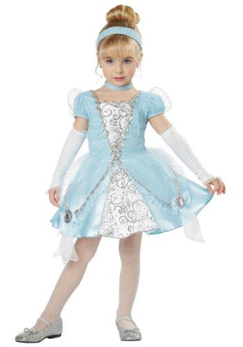 California Costumes Cinderella Deluxe Toddler Costume, 3-4