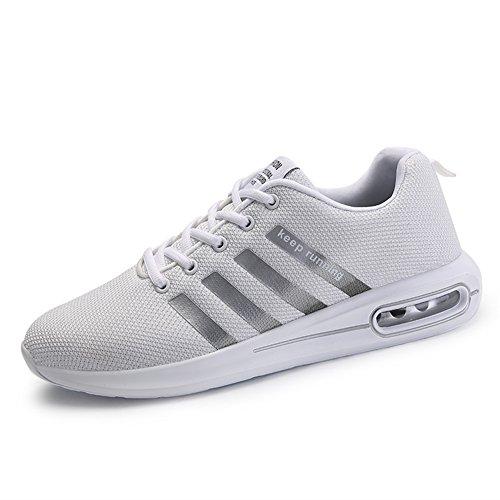 Sportive Running Uomo Ginnastica Grigio Fitness Air Scarpe da Casual all'Aperto Sneakers Interior Basse Corsa n0qIp0