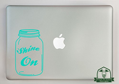 - Grain To Glass Designs Shine On Canning Jar Vinyl Decal Sized To Fit A 15