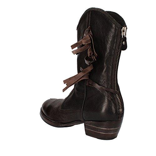 Leather 38 Uk 38 Brown 5 In Eu 5 Donne 5 Boots 5 Moma Delle Moma Women's Eu Marrone Pelle Uk Stivaletti 5 Ankle 5 nx8HXqz