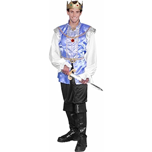 [Adult Storybook Prince Costume (Size: Large 42-44)] (Storybook Prince Adult Mens Costumes)