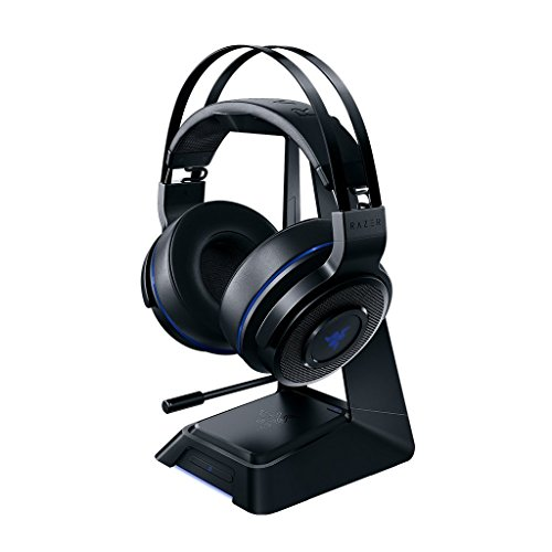 Razer Thresher Ultimate - Playstation 4 (PS4) & PC Wireless Gaming Headset - 7.1 Dolby Surround Sound with Retractable Microphone (Certified Refurbished)