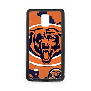 Chicago Bears Team Logo Samsung Galaxy Note 4 Cell Phone Case Black DIY gift zhm004_8712882