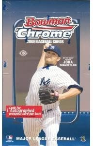 Look for Dominic Brown Rookie Loaded with Rookies /& Prospects - 1 Autograph//box 2008 Bowman Chrome Baseball Cards Factory Sealed Hobby Box