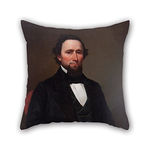 Uloveme 18 X 18 Inches / 45 By 45 Cm Oil Painting Attributed To Joseph Oriel Eaton - David Gibson Throw Pillow Case,2 Sides Is Fit For Indoor,couples,gril Friend,car,home,play (Gibson Girl Wig)