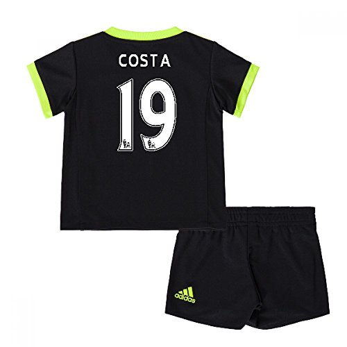深くかすれたオーナー2016-17 Chelsea Away Mini Kit (Costa 19)