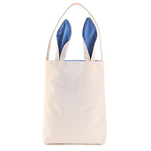 Easter Bunny Bag - Easter Basket Tote Handbag - Dual Layer B