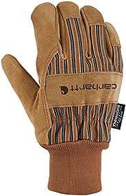 Carhartt Men's Suede Work Glove with Knit Cuff