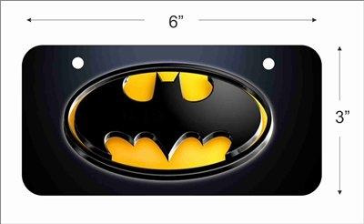 Batman Batmobile Mini placa de licencia para bicicletas ...