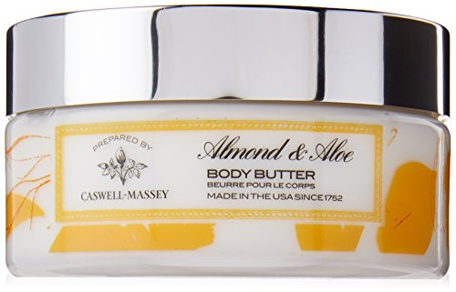 Caswell-Massey Almond and Aloe Body Lotion - Luxurious Body Butter With Botanical Extracts To Hydrate and Moisturize Skin, 8 Ounce
