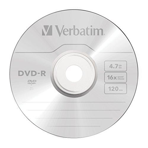 Verbatim DVD-R 4.7GB 16x AZO Recordable Media Disc - 100 Disc Spindle - 95102 by Verbatim (Image #1)