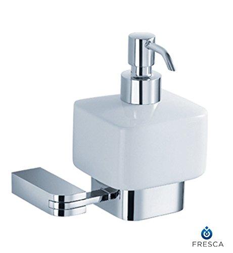 Fresca Bath FAC1323 Solido Wall Mount Lotion Dispenser, Chrome by Fresca Bath