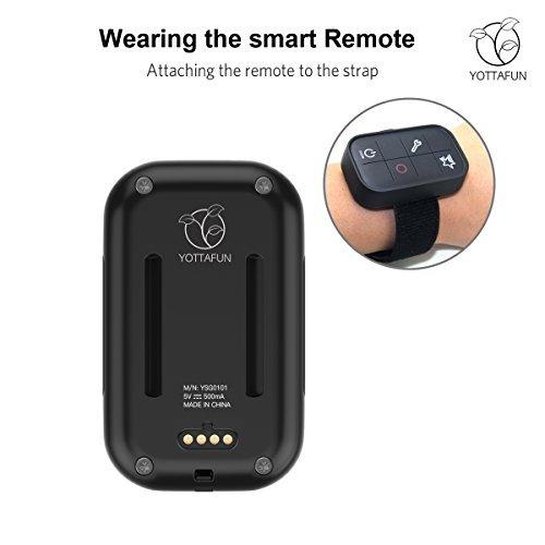 GoPro Remote, YOTTAFUN Smart Remote for GoPro Family, works with GoPro Hero 5,Hero 5 session,Hero 4 Black,Hero 4 Silver,Hero session,Hero3+