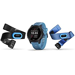Garmin Forerunner 945 Bundle, Premium GPS Running/Triathlon Smartwatch with Music, Blue