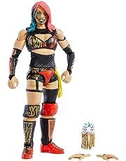 WWE Asuka Elite actionfigur, 15,24 cm hög figur med lyxig artikulering, äkta FX-detaljering, utbytbara händer och ikoniska tillbehör