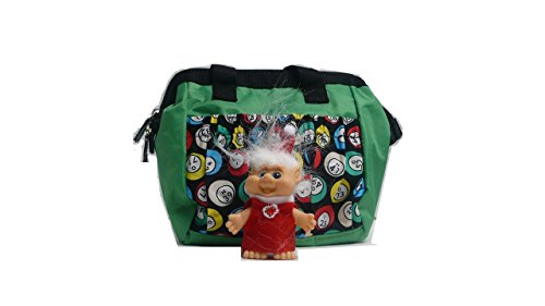 # 1 Bingo 6 Pocket Dauber Tote with a Jolly Troll