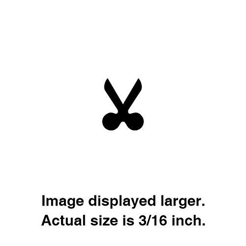 Hole Punch,Scissors Shape - 3/16''