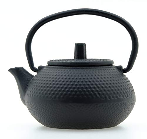 Gifts Of The Orient - Clavo De Gotero - Tetera De Hierro Fundido En Miniatura - Negro Minusculo Agua Mini Tetsubin